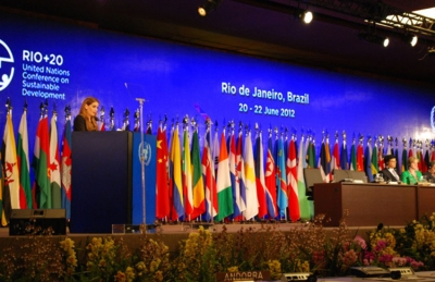 Seychelles and the blue economy at Rio+20