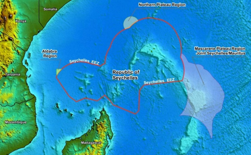 Seychelles' territorial waters were extended by over 14,800 square kilometres. (Seychelles News Agency)