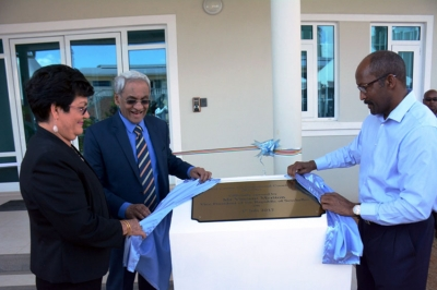 Official opening of the Regional Centre for Operations Coordination (RCOC) in 2017 (Photo credit: Seychelles Nation)