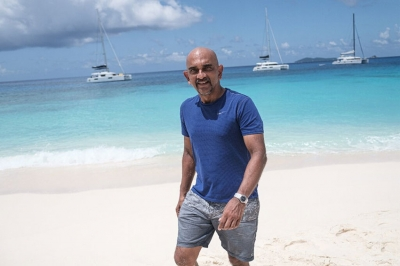 Nirmal Shah, Nature Seychelles' Chief Executive (Photo: AFP)