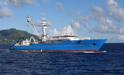 There is a grace period of ships which are already in service to comply with the convention requirements. (Photo: Nature Seychelles. Used only for illustration)