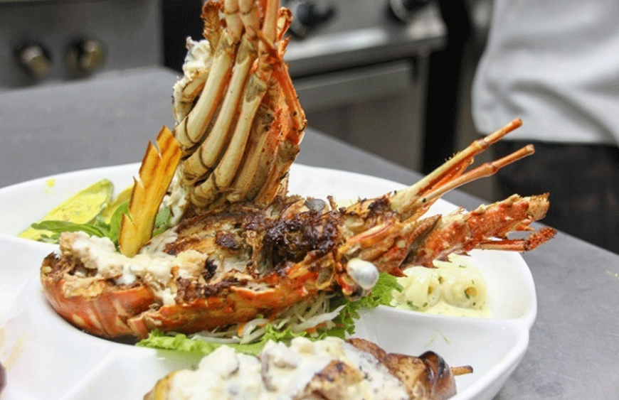 Lobster considered as a delicacy. (Romano Laurence, Seychelles News Agency)