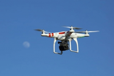 Surveillance of large marine areas will be done using a combination of the short and long-range drone equipped with artificial intelligence. (Don McCullough, Wikimedia Commons) Photo License: CC BY 2.0