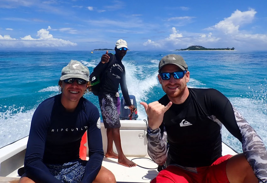 Corals and whale shark adventures on Nature Seychelles' Reef Rescuers program